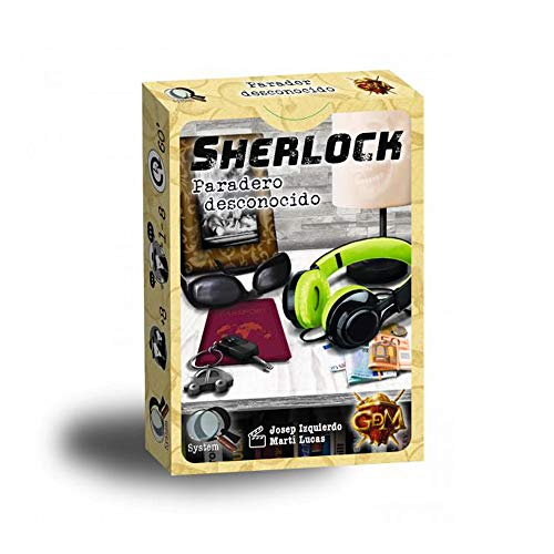 GDM Games- Sherlock: paradero Desconocido