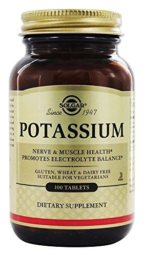 Solgar Potasio Comprimidos - Envase de 100