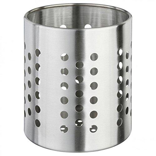 Paris Prix - Pot Range Couverts Inox 13 Cm
