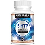 Superfood Supplements; 5HTP | 200mg High Strength | 180 Capsules 6 Month Supply | Made in UK