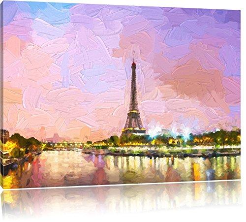 torre-eiffel-di-parigi-di-notte-effetto-pennello-formato-80x60-su-tela-xxl-enormi-immagini-completam