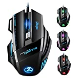 VICTSING Souris Gamer LED Optique 5500 DPI Zelotes...