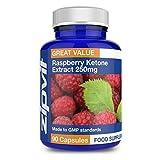 Raspberry Ketone 250mg | 90 Capsules | 6 WEEKS SUPPLY