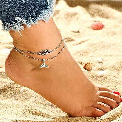TAOtTAO Dreamcatcher Anklet Women's Summer Beach Sandal Barefoot Chains Foot Bracelet Ankle Chain