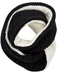 Dublín Snood, negro, talla única