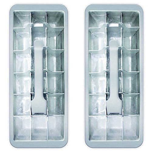 18 Cube Vintage Küche Ice Cube Tablett 2er Pack Ice Cube Mold Tray