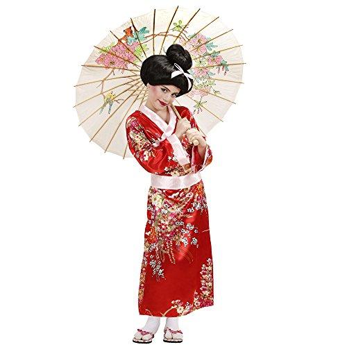 Imagen de geisha disfraz pequeño 7.5 años de los niños 128cm para oriental del vestido de lujo de china alternativa