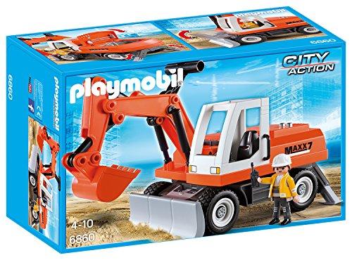 PLAYMOBIL 6860 - Schaufelbagger mit Räumschild