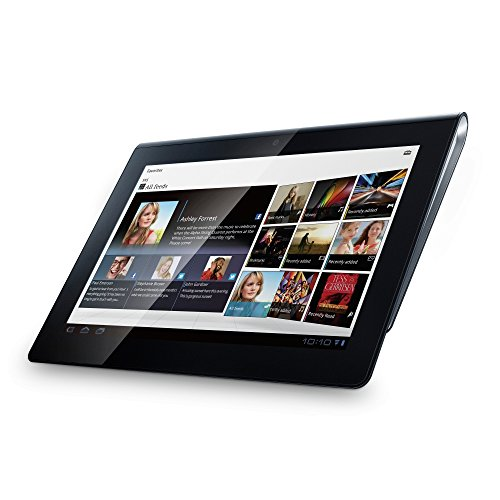 Sony SGPT114DE 23,8 cm (9,4 Zoll) Tablet-PC (NVIDIA Tegra2, 1GHz, 1GB RAM, 16GB Flash Speicher, WLAN, UMTS, Android 3.1) schwarz/silber Sony Lcd-pc