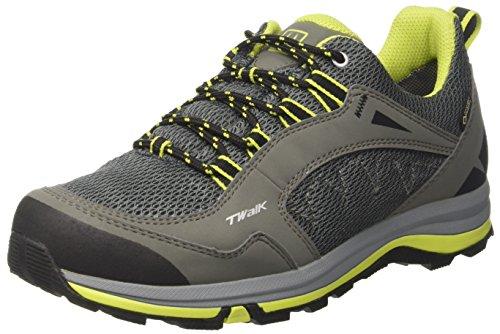 Sconosciuto Tecnica T-Walk Low Syn Gtxョ Ms, Scarpe da Camminata Uomo, (Antracite/Lime), 42 EU