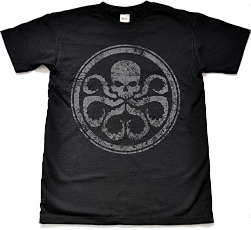 Teamzad Hydra Black T Shirt Large