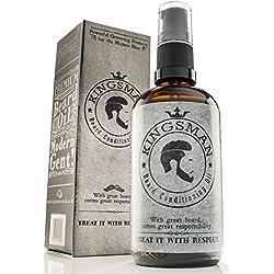 Kingsman barba Acondicionador de aceite, barba y crema hidratante, XL 100ml botella