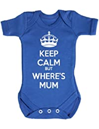 Baby Buddha - Keep Calm But Wheres Mum Body bébé 100% Coton