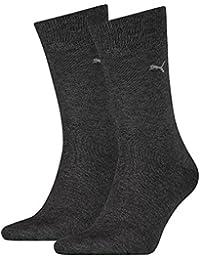 PUMA Herren Classic Casual Business Socken 8er Pack anthracite 201 - 43/46