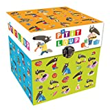 P'tit Loup - Ma bibliotheque (4 titres) + cubes
