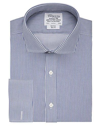 tmlewin-mens-non-iron-navy-slim-stripe-slim-fit-cutaway-collar-shirt-15