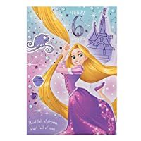 Hallmark Disney Tangled 5th Birthday Card Sprinkle of Magic - Medium