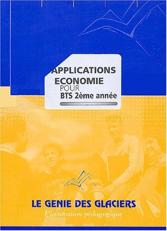 Applications économie pour BTS 2ème année