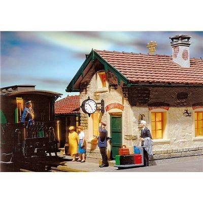 POLA 330973  - Reloj de estación iluminado Importado de Alemania