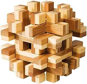 difficulté 5 etoiles modèle Appolo casse tete en bois bambou