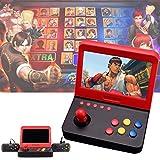 Jamicy ® Handheld Spielkonsole, 7 Zoll 3000 integrierte Spiele Farb-Digital-TFT-Bildschirm mit 2 Game-Handle, Retro Game Player das Beste Geburtstagsgeschenk für Kinder