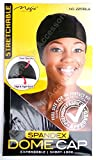 Magic Collection Expandable / Short-Look Dome Cap With Elastic Band No 2251 BLA by Magic Collection