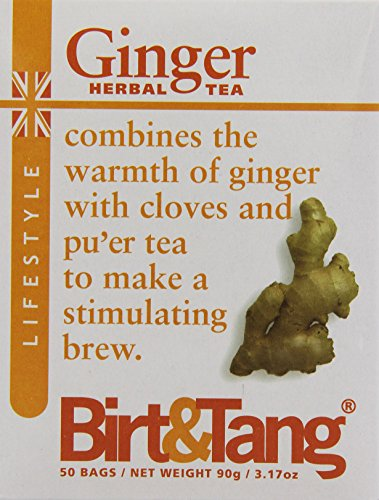 Birt & Tang Ginger 50 Teabags (Pack of 2, Total 100 Teabags