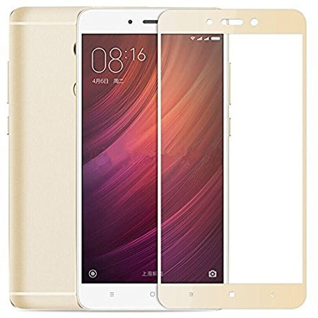 JMP Mobile Tempered Glass for Redmi note 4 gold