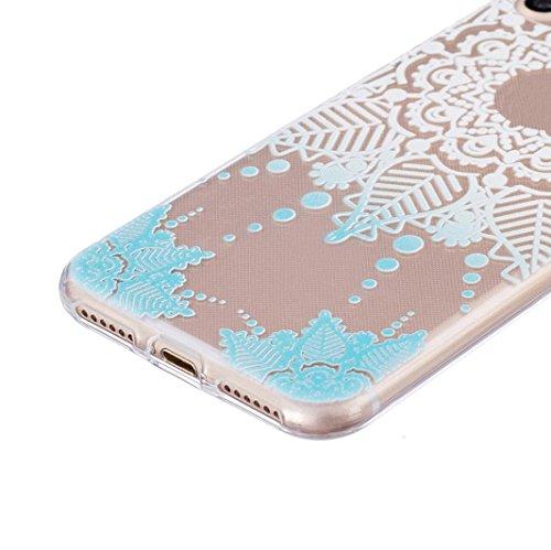 Ouneed® Für iPhone 7 /4.7 Zoll Hülle, Ultra Slim bunt Vintage Haut TPU Case Cover für iPhone 7 / 4.7 Zoll (7 /4.7 Zoll, J) C