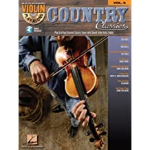 Country Classics (Songbook): Violin Play-Along Volume 8