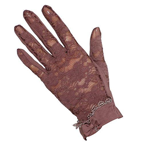 WARMEN les gants antisolaire de femme Café