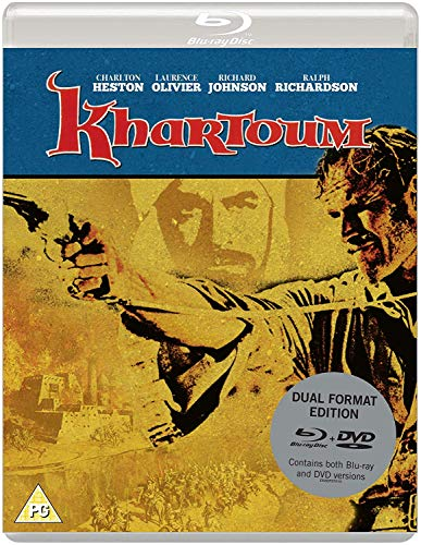 Khartoum (Eureka Classics) Dual Format (Blu-ray & DVD) edition (Eureka-film)