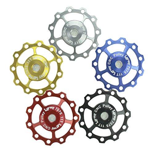 2-pcs-lerway-a-05-11t-bicicletta-derailleur-guidacinghia-ruote-alluminio-pulley-jockey-cnc-wheel-shi