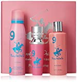#10: Beverly Hills Polo Club Gift Set 9 for Women (Eau De Toilette, Body Wash and Deodorant)