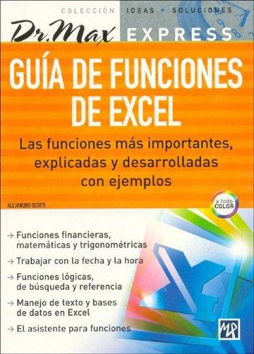 Guia De Funciones De Excel/excel Function Guide
