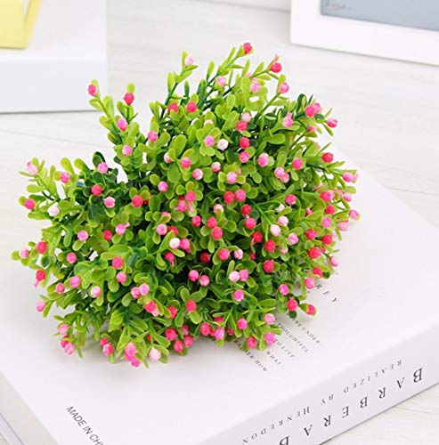 HHZDH Künstliche Blumen Bluegrass Topfpflanzen Blumenarrangements Pflanzen Gypsophila Dekoration A