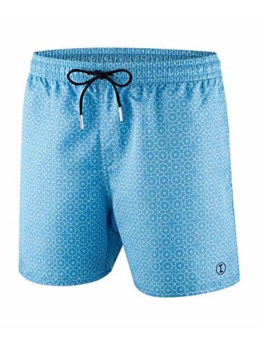 Short de bain Homme Impetus Macaw Bleu Ciel Bleu