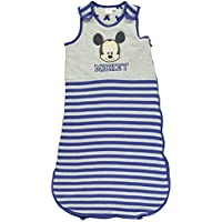 Mickey Mouse Jersey Sleeper Bag Infant Baby Blue/Gry Growbag Sleeping Bag