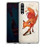 DeinDesign Huawei P20 Pro Silikon Hülle Case Schutzhülle Fox Fuchs Vulpes