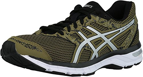Asics Gel-Excite 4 Synthétique Chaussure de Course Martini Olive/Silver/Black