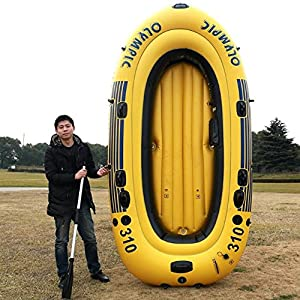 POTA Inflatable boat fishing boat yacht thicker kayak