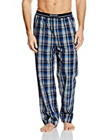 BOSS Hugo Boss Men's Long Pant EW Pyjama Bottoms, Blue (Medium Blue), Small