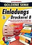 Einladungs-Druckerei 8 (DVD-ROM)