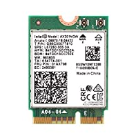MQUPIN Intel Dual Band Wireless AX201NGW 2.4Gbps 802.11ax Wireless Intel AX201 WiFi Card Bluetooth 5.0 for Windows 10, 64-bit, Google Chrome OS, Linux(5.2 Kernel System Above) (AX201NGW)