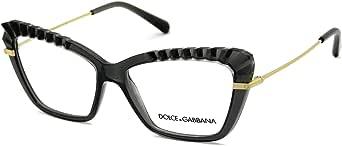 Dolce & Gabbana Occhiali da vista PLISSÈ DG 5050 TRANSPARENT GREY 54/15/140 donna