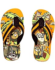 SOLETHREADS Zoo | Uber Cool | Fun | Colourful | Hip | Flip Flops for Kids