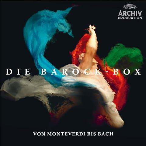 Le Coffret Baroque : De Monteverdi A