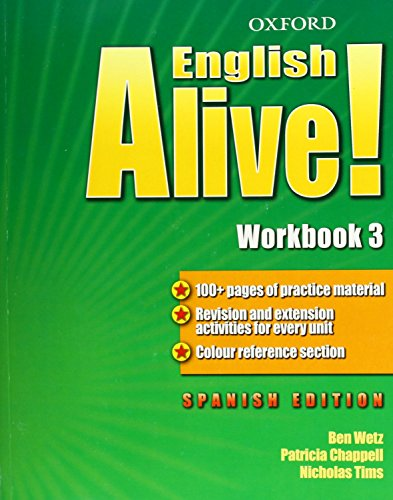 English Alive! 3: Workbook (Spanish) - 9780194710183