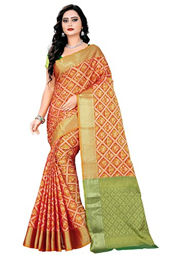Rutrang Fashionable Banarasi SILK Saree for women made of the Best Quality...