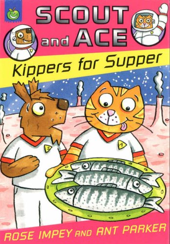 Scout and Ace kippers for supper